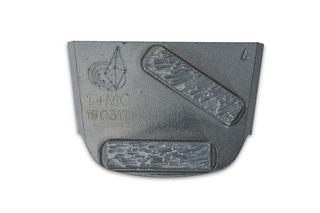 Lavina X Quick Change Trapezoid Pad, 14 Grit, Two Rectangle for Medium Concrete