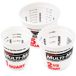 Midwest Rake Multi Mix Containers