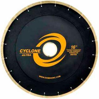 "CYCLONE ULTRA BRIDGE SAW BLADE PORCELAIN/UCS 14"" 50/60 ARBOR"