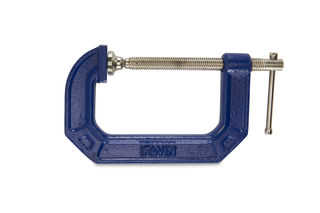 """Irwin C-Clamp 4"""" with 2-7/8"""" Throat 1300lbs"""