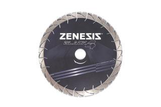 "Zenesis Black 4 Bridge Saw Blade 14"" 25mm Segments 50/60mm"