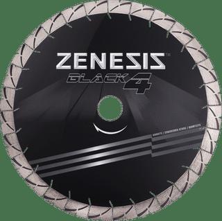 "Zenesis Black 4 Bridge Saw Blade 20"" 25mm Segments 50/60mm"