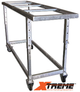 Xtreme Fabrication Table Galvanized Adjustable Height