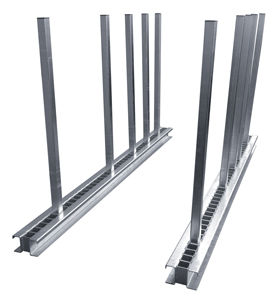 """Xtreme X3 and X2 Slab Rack Pole 71"""" Tall with Cap"""