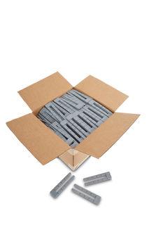 """Tapered Plastic Wedge Breakaway, 1 1/2""""x6"""", Box Of 600"""