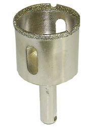 "Alpha Electroplated Core Bit 1 3/8"" Diameter 3/8"" Shank"