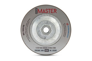 "Lavina Edge Master Turbo Cup Wheel 5"" Step #3 Med 100 Grit"
