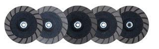 "Lavina Edge Master Turbo Cup Wheel 5"" Step #5 EF 400 Grit"