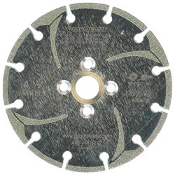Diarex Electroplated Marble Blades, 4 Hole Arbor