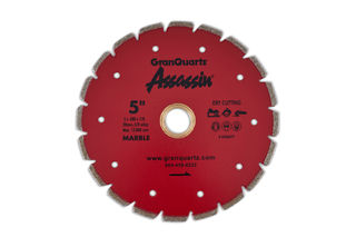 """Assassin Electroplated Blade 5"""" 5/8""""-20mm - 7/8"""""""