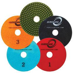 "4"" Hurricane 3-Step Polishing Pads"