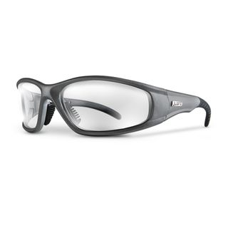 LIFT STROBE SAFETY GLASSES  SILVER/CLEAR ESR-6C