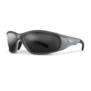 LIFT STROBE SAFETY GLASSES  SILVER/SMOKE ESR-6ST