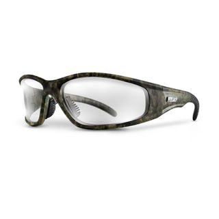 LIFT STROBE SAFETY GLASSES  CAMO/CLEAR ESR-12CFC