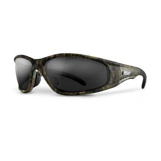 Lift Safety Strobe Safety Glasses Camo/Smoke ESR-12CFST
