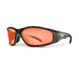 Lift Safety Strobe Safety Glasses Camo/Amber ESR-12CFA