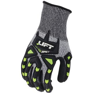 Lift Safety Fiberwire Cut A5 Impact Glove GFT-19YL Large