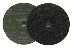 """Sait Silicon Carbide Fiber Discs, 7"""" x 7/8"""", 220 Grit"""
