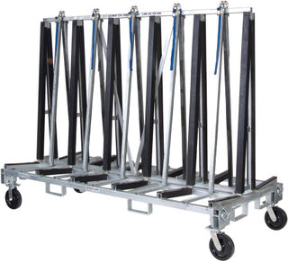 Groves TR4496 Heavy Duty Transport Rack with 4 Swivel Casters