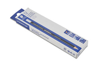 Glasochrome Marking Pencil White Box Of 12, Permanent