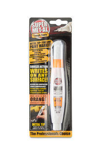 Super MET-AL Paint Marker Fine Line, Orange