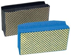 "4"" x 2-3/8"" Diarex Pro Series Diamond Hand Pads"