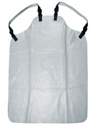 """Rubber Apron, Gray, 1.1mm Thick, 35.5""""x44"""""""