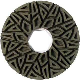Diarex ICE Flat Wheel, Buff, 130mm Diameter Snail Lock