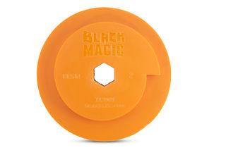 Black Magic Combo Wheel 130mm Diameter Snail Lock Resin Position 2