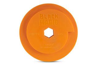Black Magic Combo Wheel 130mm Diameter Snail Lock Copper Fine