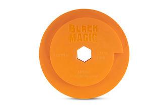 Black Magic Combo Wheel 130mm Diameter Snail Lock Copper Extra Fine