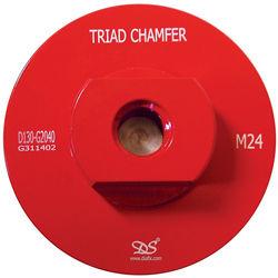 Dongsin Triad Chamfer Wheel Body, M24 Female
