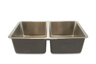 Oliveto Stainless Steel, 18 GA Sink R22 Radius, 50/50