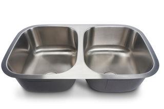 Oliveto Stainless Steel Sink 18 Gauge 50/50