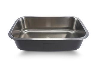 Oliveto Stainless Steel Sink 18 Gauge Large Singlebowl 31x17x9