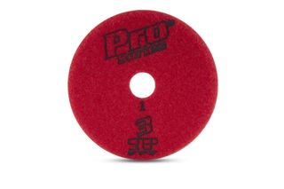 """Pro Series 3 Step Wet Pad 4"""" Step 1 PS1Wet"""