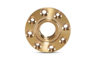 """Brass Flange 20mm Shoulder 5/8-11"""" Thread DADGR458"""