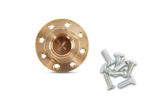"""Hydroquad Wet Flush Mount 8 Hole Adapter, 5/8""""-11 To 20mm"""