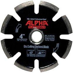 "Alpha Tuck Point Blade 4"", 7/8""-5/8"""