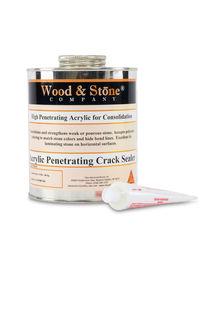 Wood And Stone Acrylic Penetrating Crack Sealer, Quart