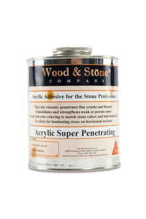 Super Penetrating Marble Adhesive and Filler, Quart