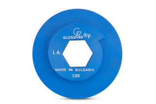 """GlossFire Copper Disc 6"""" 100 Grit Snail Lock"""