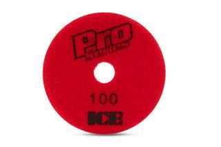"Pro Series Ice Wet Polishing Pad 4"" 100 Grit"