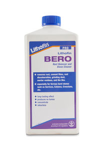 Lithofin Bero Rust Remover and Stone Cleaner, 1 Liter