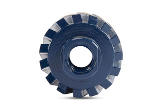 """Dongsin Zero Tolerance Wheels, Gear Drum 2"""", 50 Grit, 5/8""""-11 L35"""
