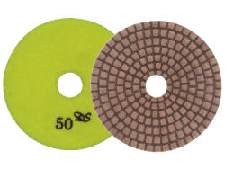 "3"" Dongsin X-Diaflx Copper Dry Polishing Pads"