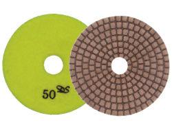 "Dongsin X-Diaflx Copper Dry Polishing Pads 4"""