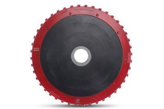 """Dongsin Milling Wheel Teflon 14"""" Granite 40mm Segmented"""