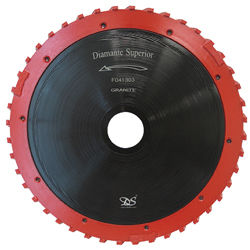 "Dongsin Milling Wheel Teflon 14"" Concrete 40mm Segmented"