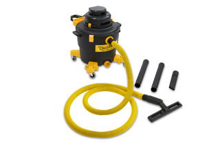 Dustless Wet/Dry HEPA Vacuum 16 Gallon with 12 Foot Hose